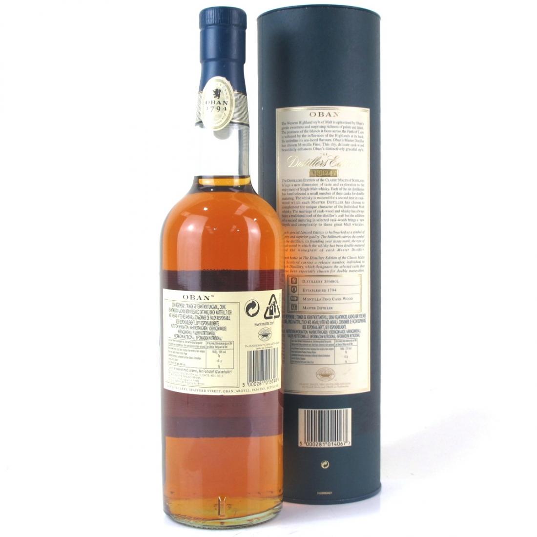 Oban 1995 Distillers Edition
