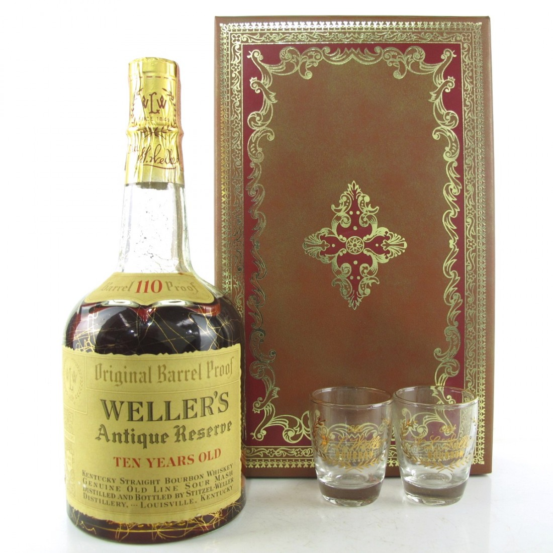 Weller's Antique Reserve 10 Year Old 1970s