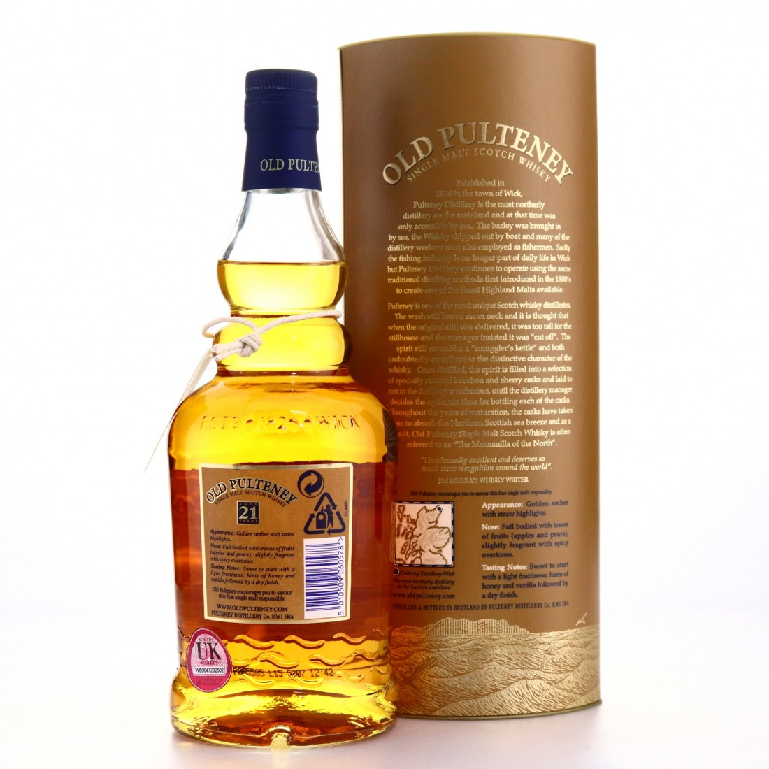 Old Pulteney 1983 Limited Edition 21 Year Old