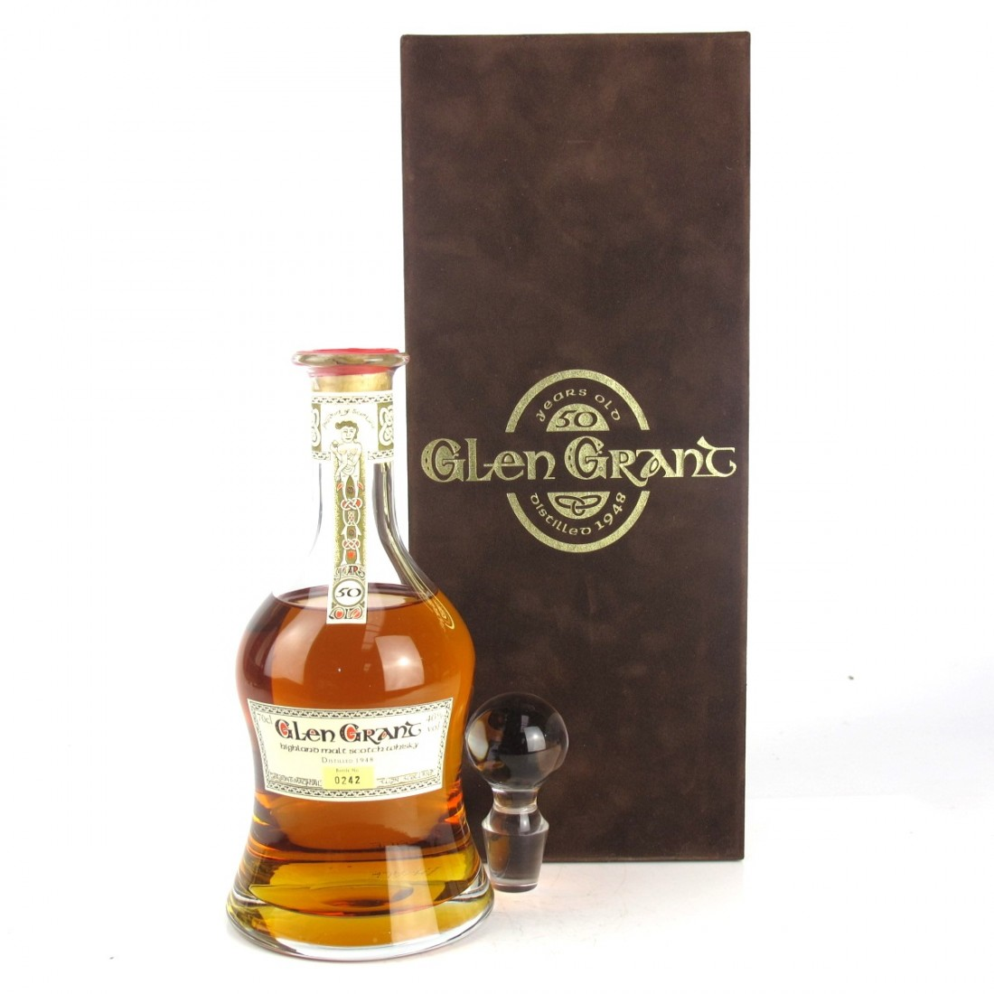 Glen Grant 1948 Gordon and MacPhail 50 Year Old Decanter