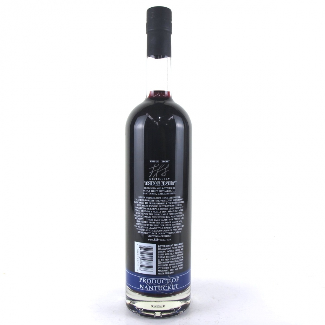 Triple 8 Blueberry Flavoured Nantucket Vodka