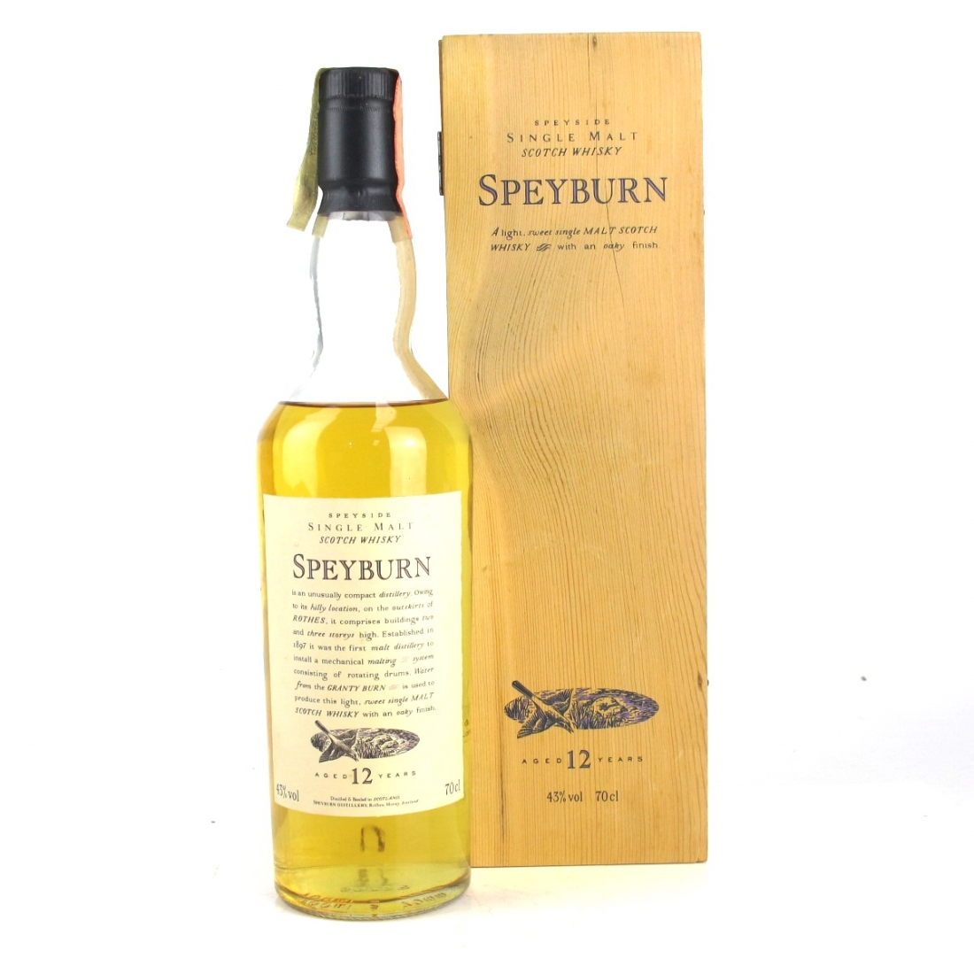 Speyburn 12 Year Old Flora and Fauna / Wooden Box