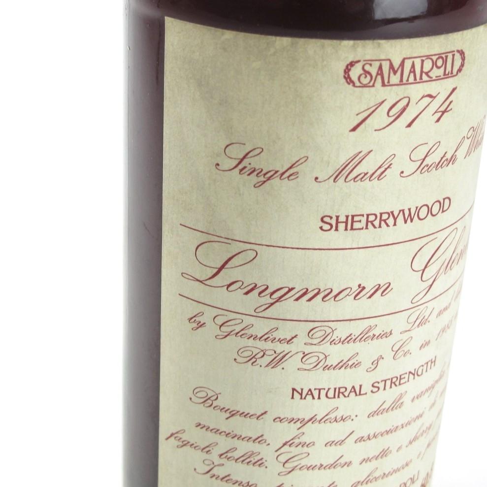 Longmorn 1974 Samaroli Cask Strength Sherrywood