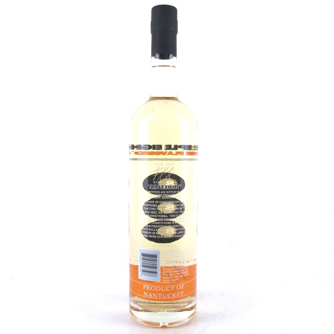 Triple 8 Orange Flavoured Nantucket Vodka