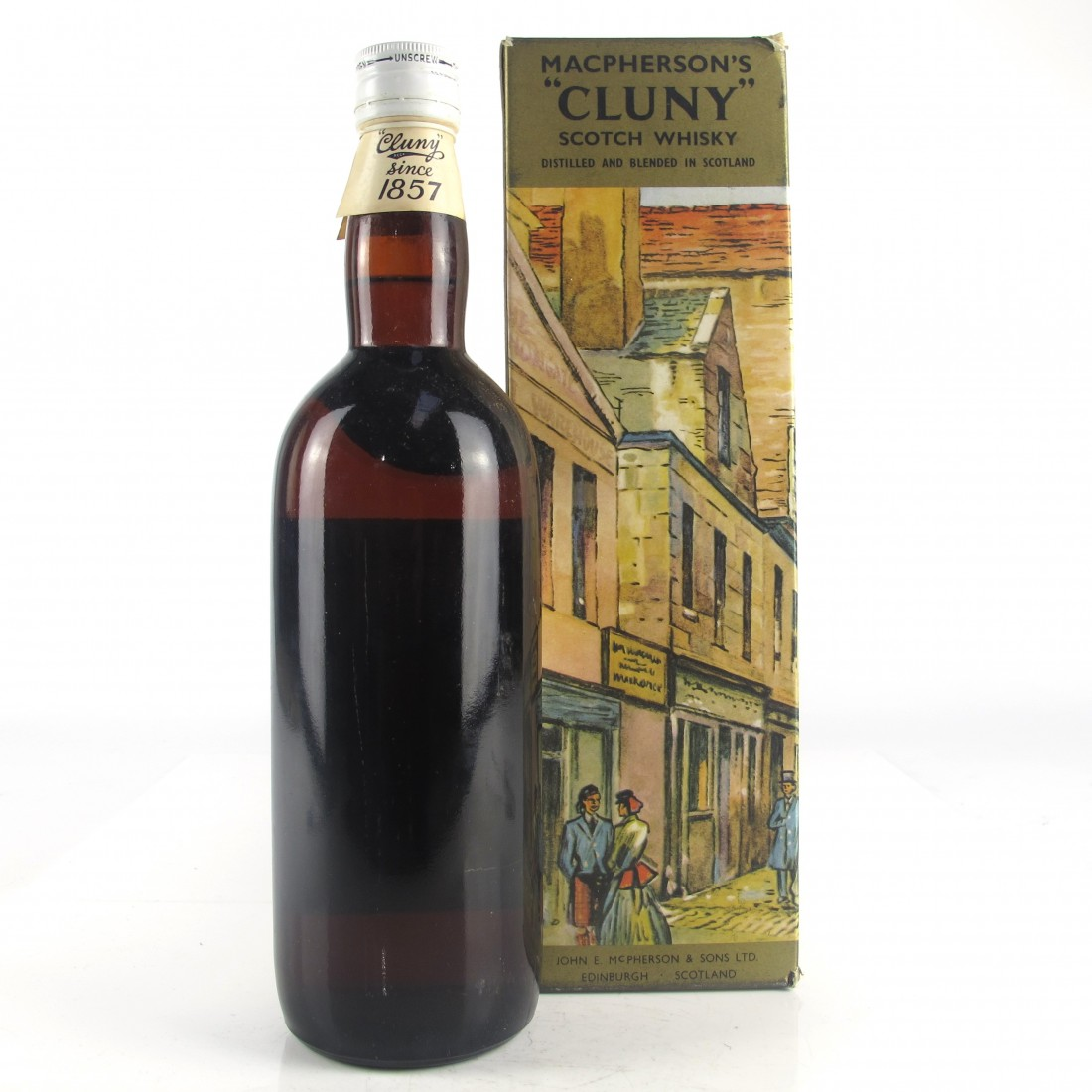 Cluny Old Scotch Whisky 1960s