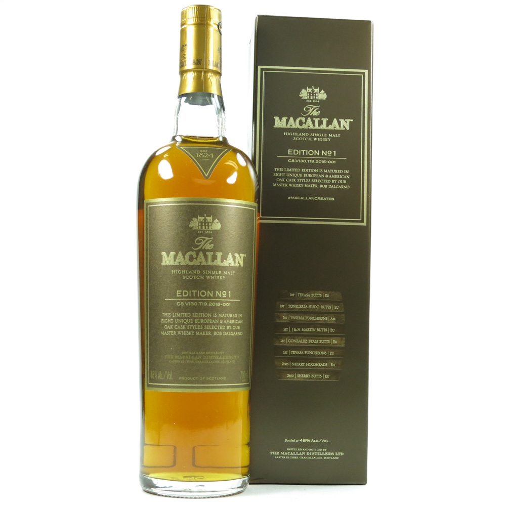 Macallan Edition No 1 / Taiwan Release Front
