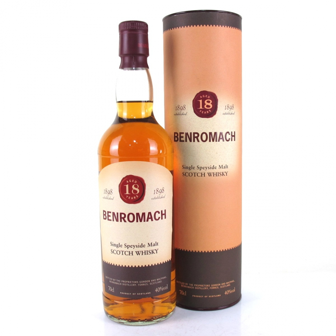 Benromach 18 Year Old