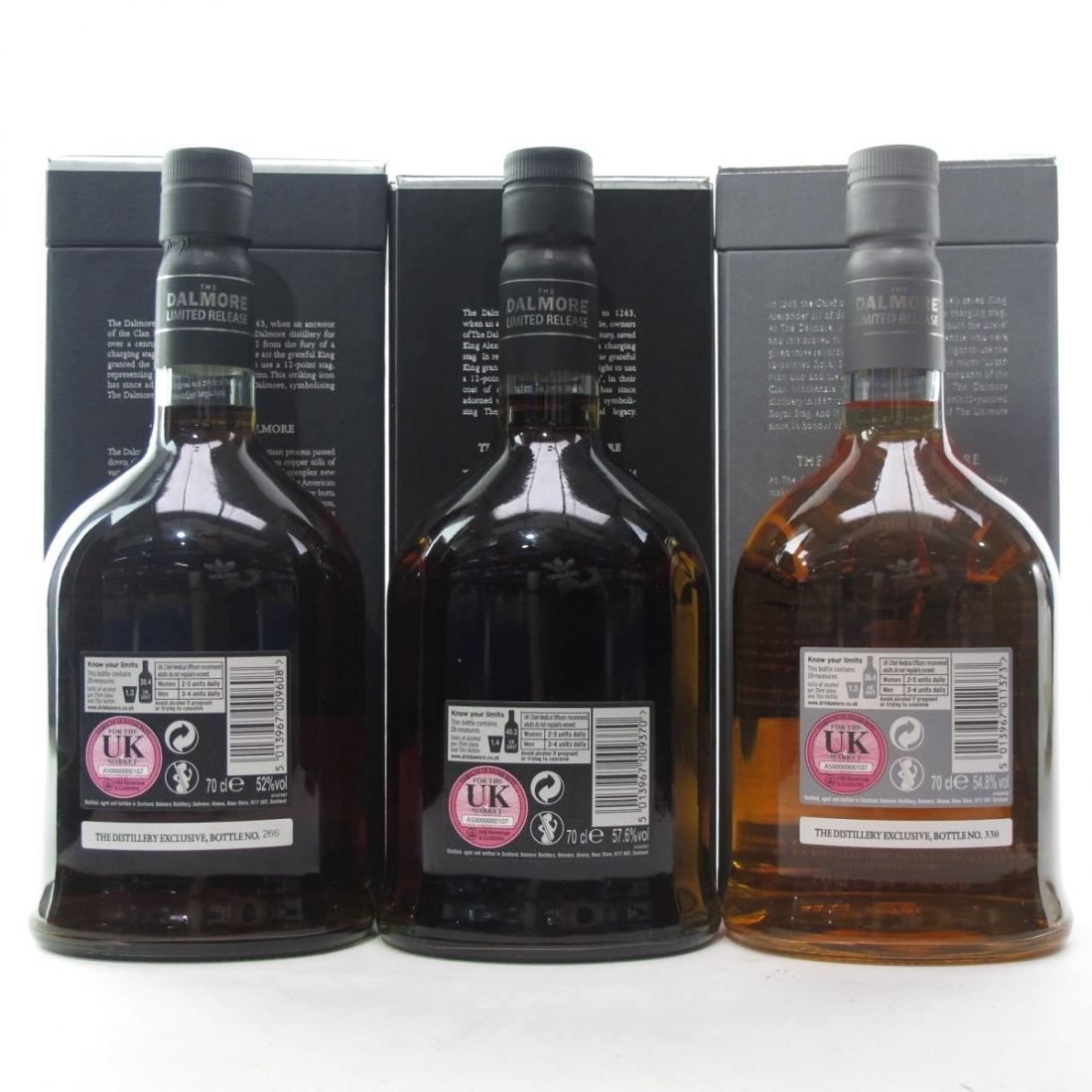 Dalmore Distillery Exclusive Selection 3 x 70cl