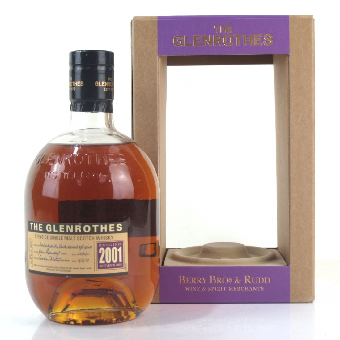 Glenrothes 2001 Vintage / Berry Brothers & Rudd