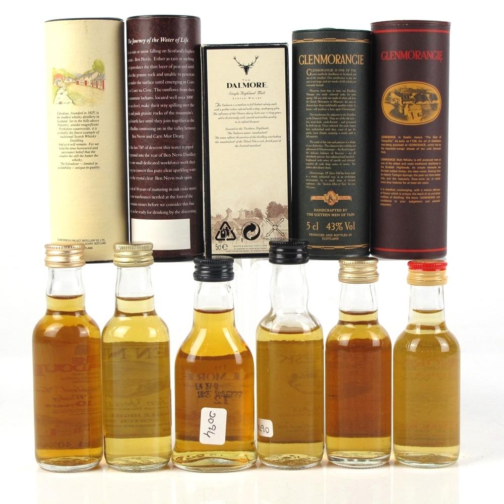 Miscellaneous Highland Single Malt Selection 6 x 5cl