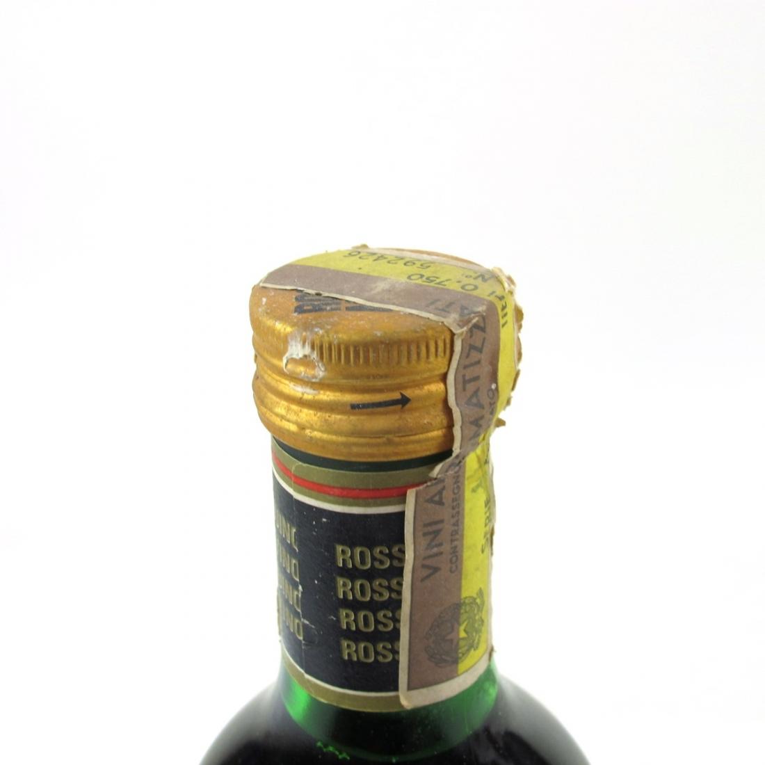 Rosso Antico Demi-Sec Aperitivo 1960s 1 Litre