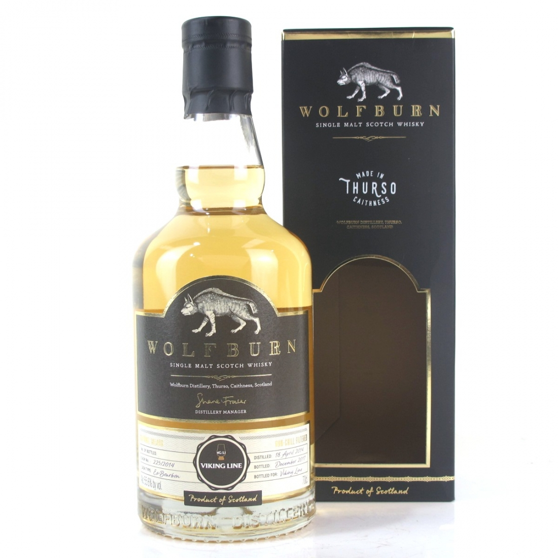 Wolfburn 2014 Single Cask #225 / Viking Line