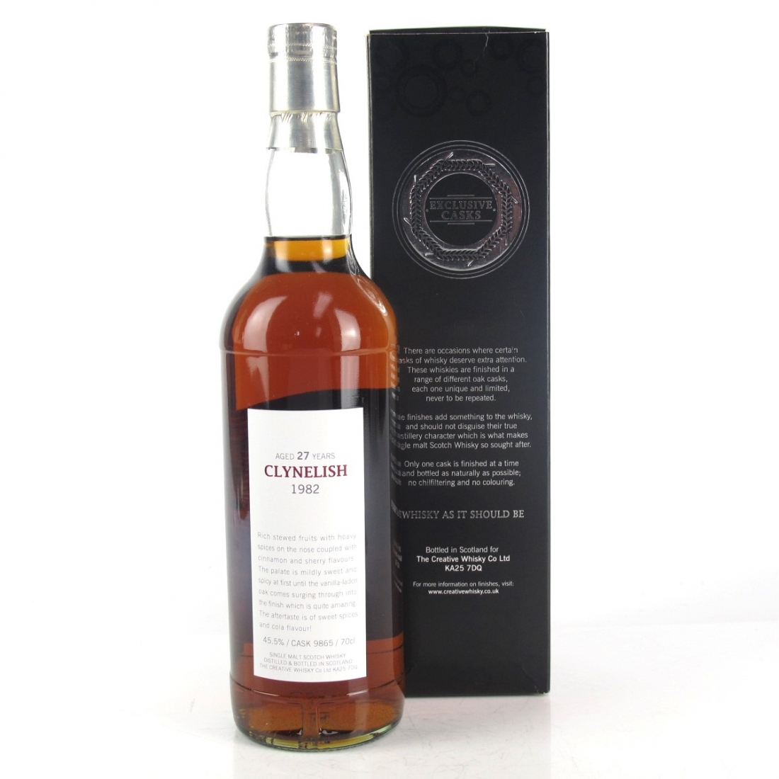 Clynelish 1982 Creative Whisky 27 Year Old