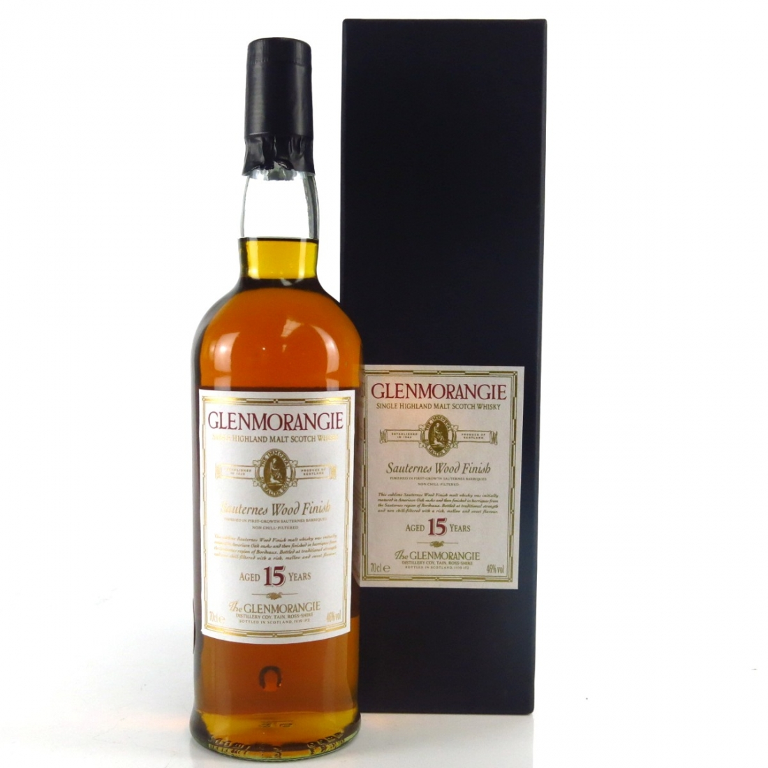 Glenmorangie 15 Year Old Sauternes Wood Finish