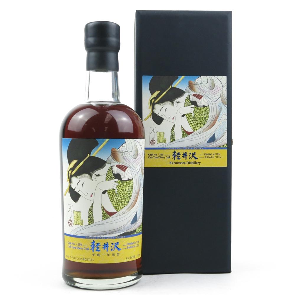 Karuizawa 1991 Geisha Single Cask #259 / One of 85 Bottles