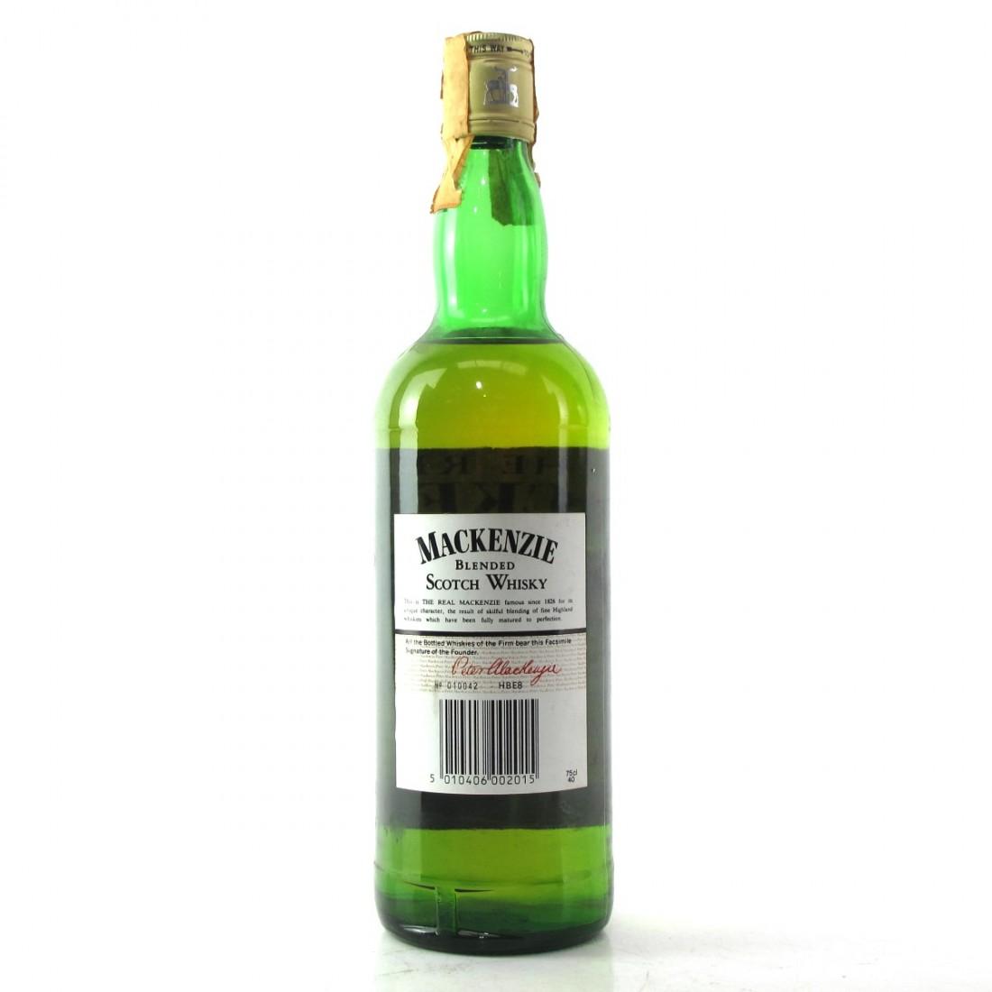Real MacKenzie 5 Year Old Scotch Whisky 1980s