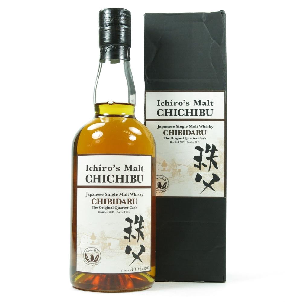 Chichibu Chibidaru 2009 / Quarter Cask Front