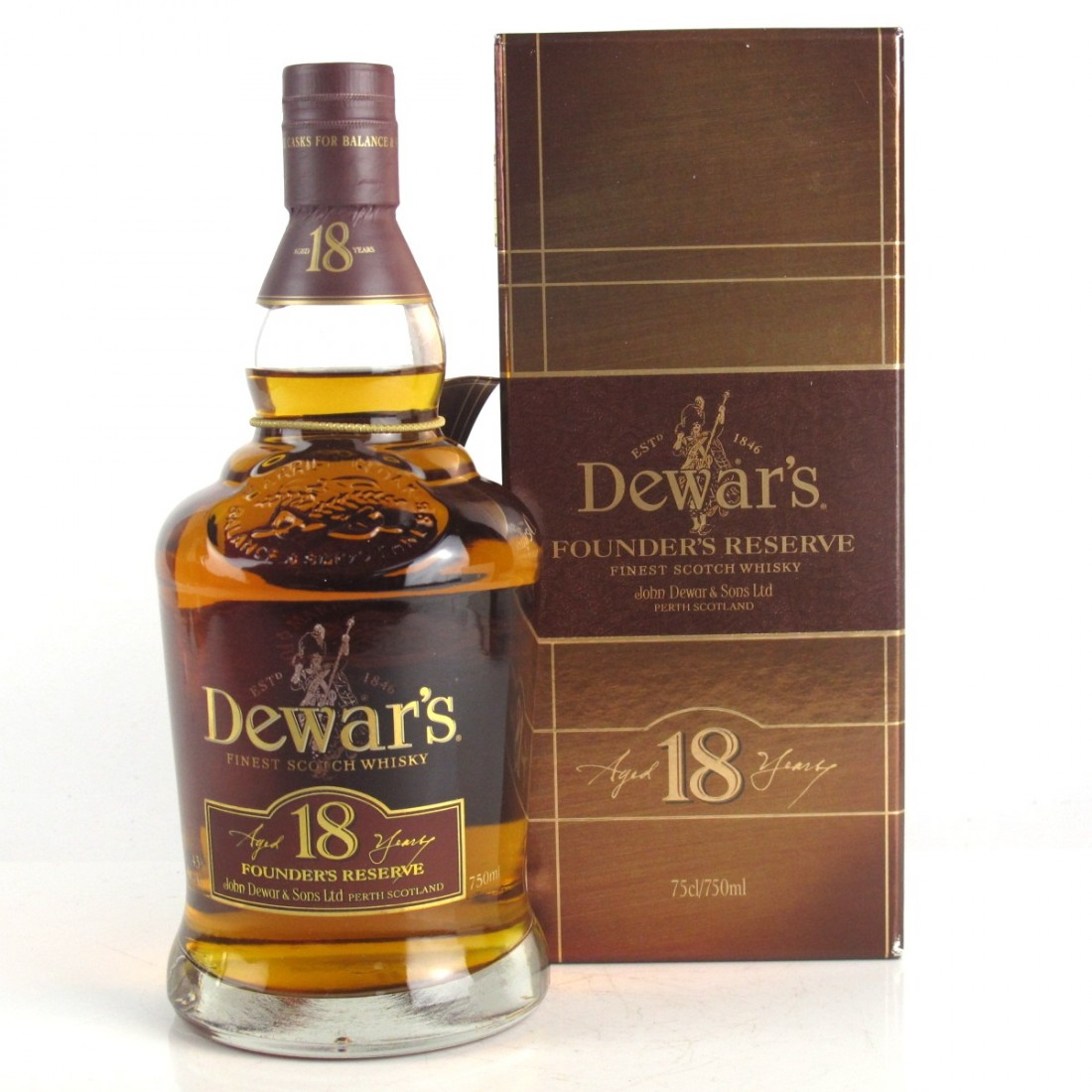 Dewar's 18 Year Old Founder's Reserve 1980s
