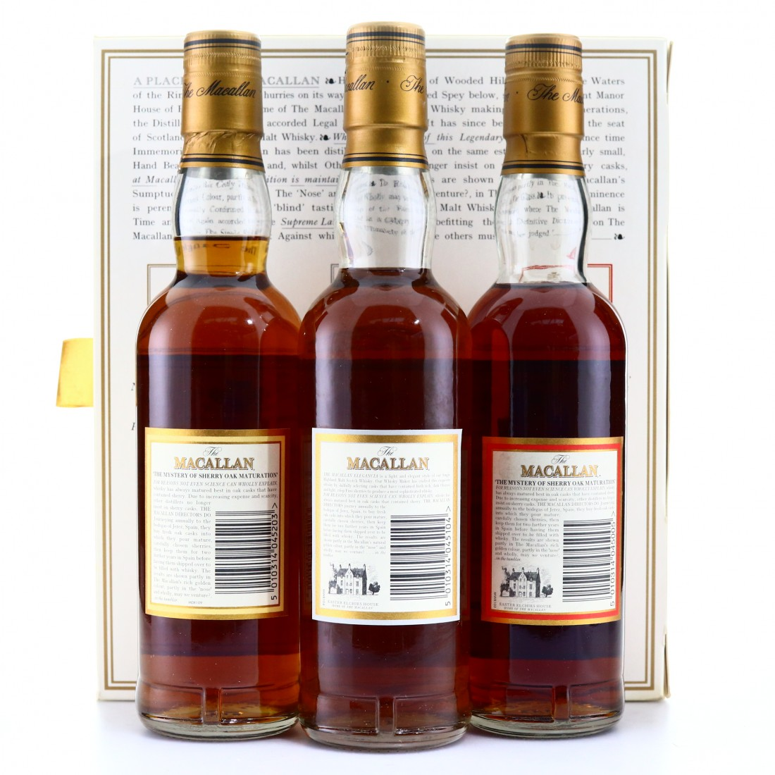 Macallan Travellers Choice 3 x 33.3cl / Macallan Travellers Choice 3 x 33.3cl/ Including Cask Strength 10 Year Old 58.5%​​​​​​​