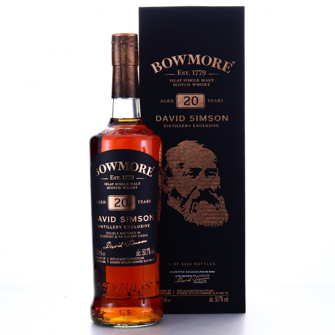 Bowmore 20 Year Old David Simson / Distillery Exclusive