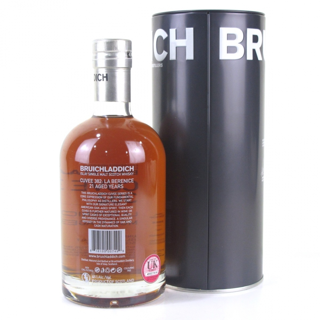 Bruichladdich 21 Year Old Cuvee #382 Sweet Wine Finish