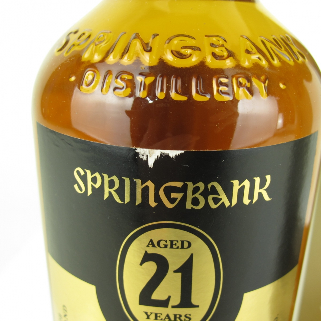 Springbank 21 Year Old Single Cask / UK Exclsuive