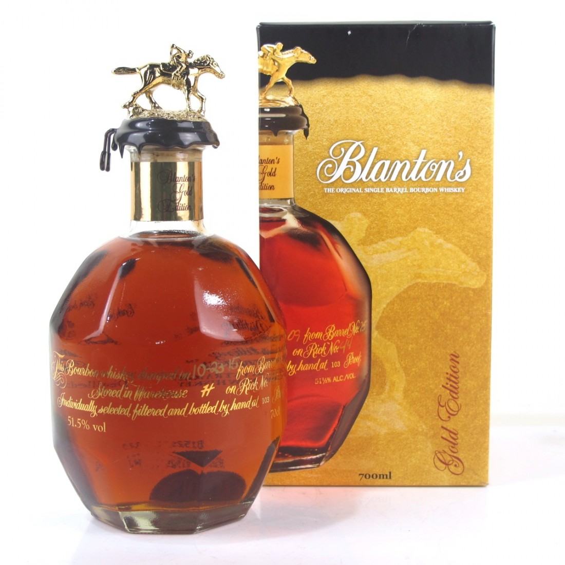Blanton's Single Barrel Gold Edition