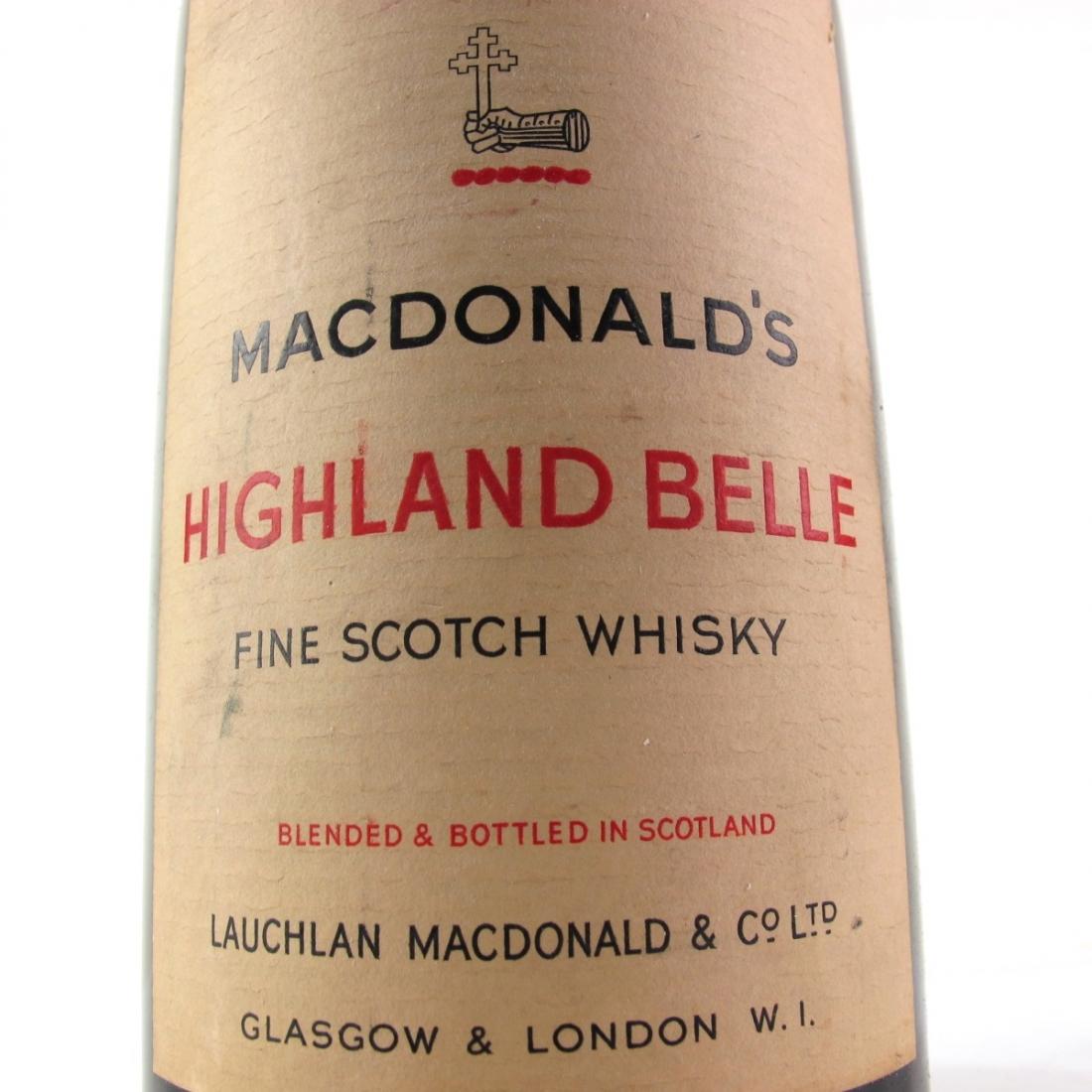 MacDonald's Highland Belle 1940s/50s