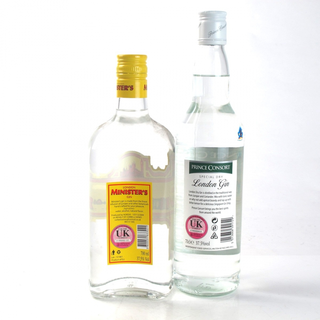 Gin Selection 2 x 70cl