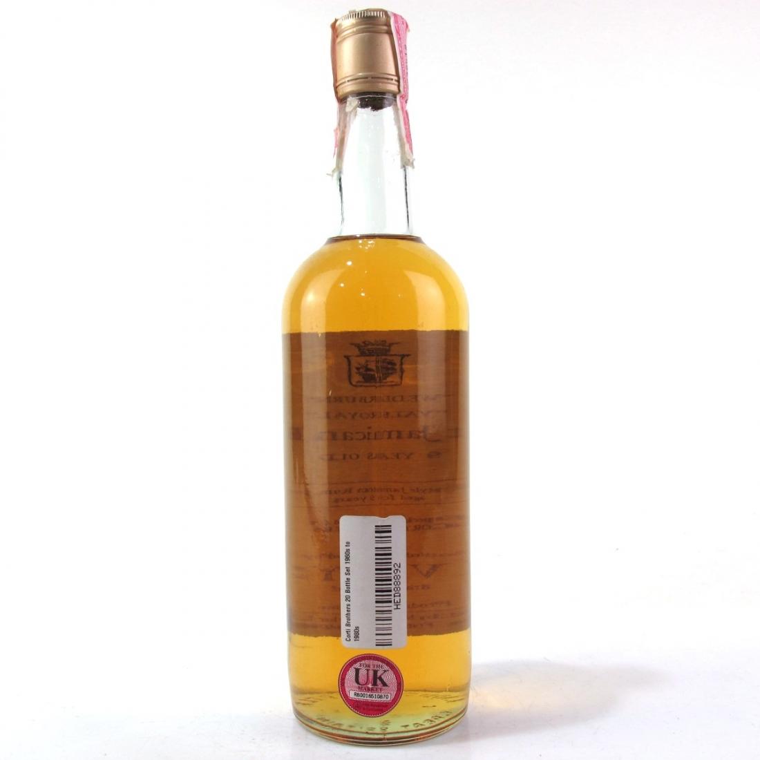 Vale Royal Wedderburn Jamaican Rum Averys for Corti 9 Year Old 1970s / US Import