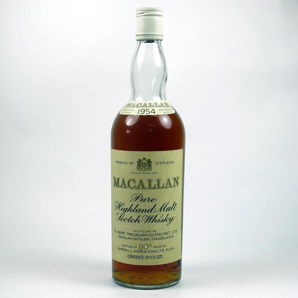 Macallan 1954 Front