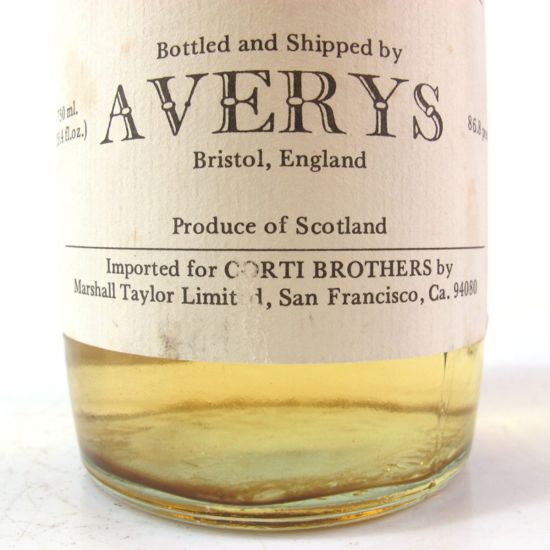 Highland Park 1970 Averys for Corti 8 Year Old / US Import