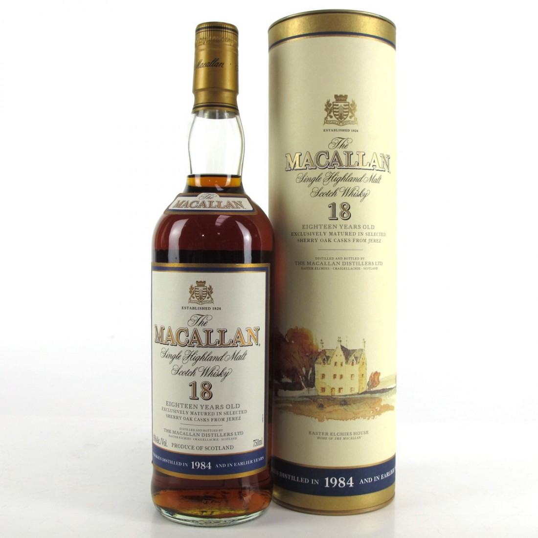Macallan 18 Year Old 1984 75cl / US Import