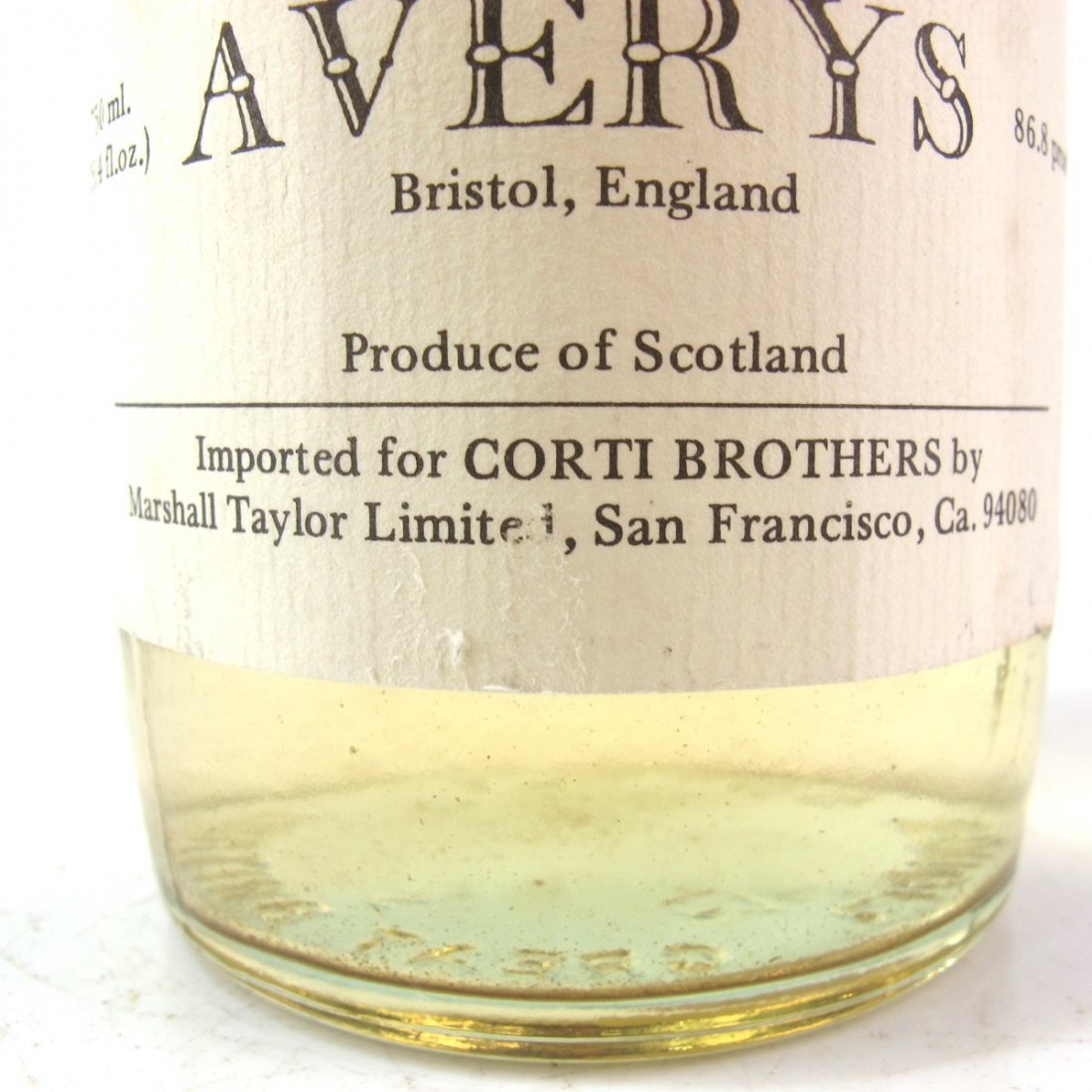 Highland Park 1966 Averys for Corti 12 Year Old / US Import