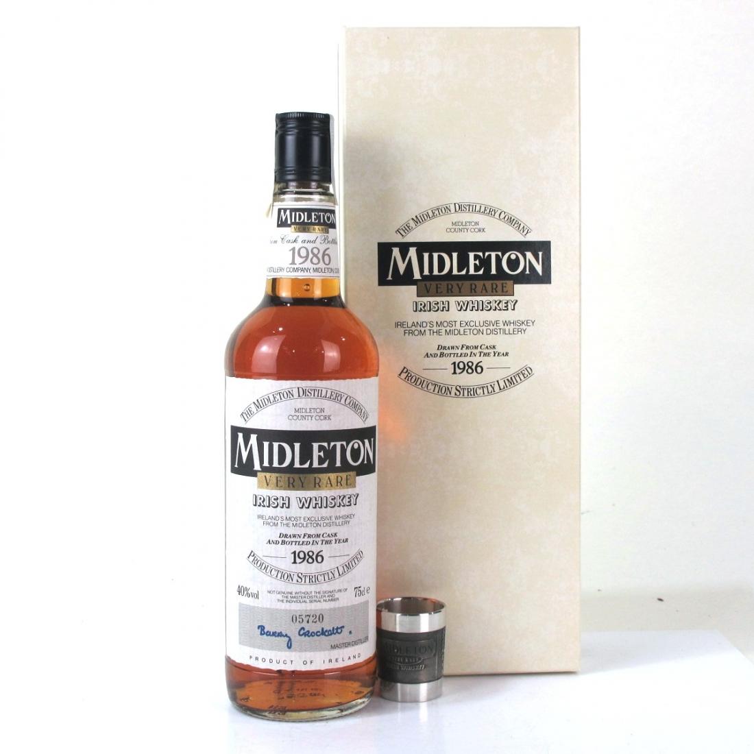 Midleton Very Rare 1986 Edition / with Mullingar Pewter Measure