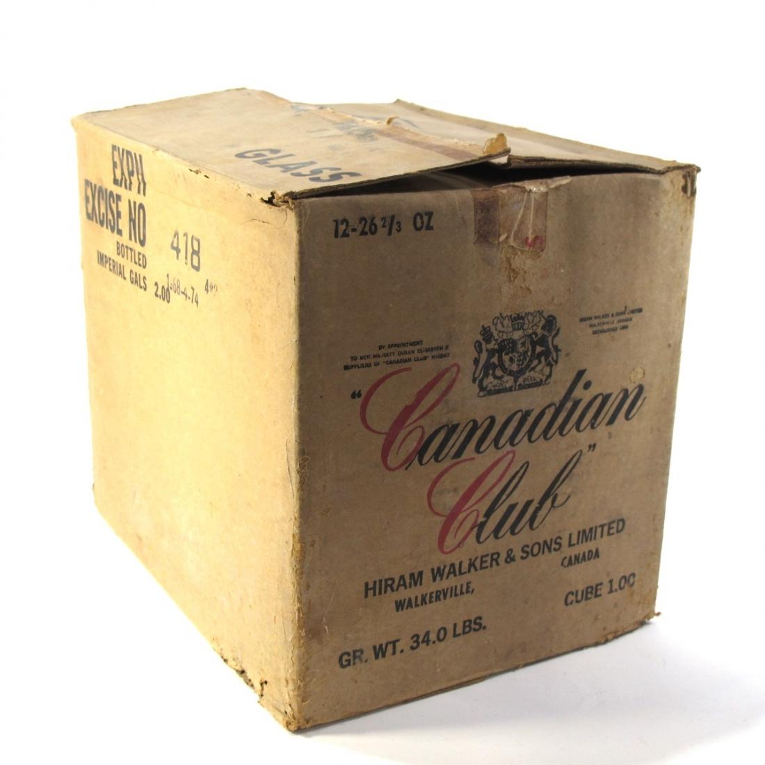 Canadian Club 1968 12 x 75cl / Case