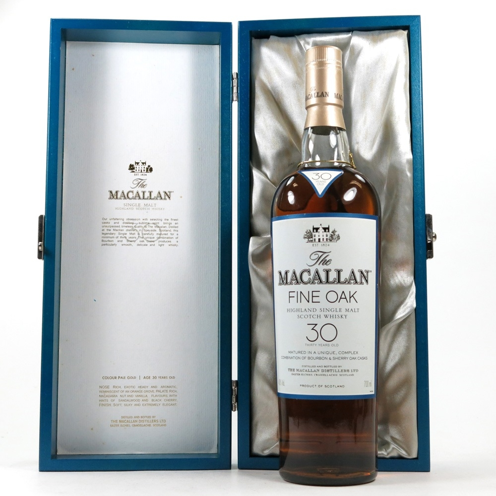 Macallan 30 Year Old Fine Oak open
