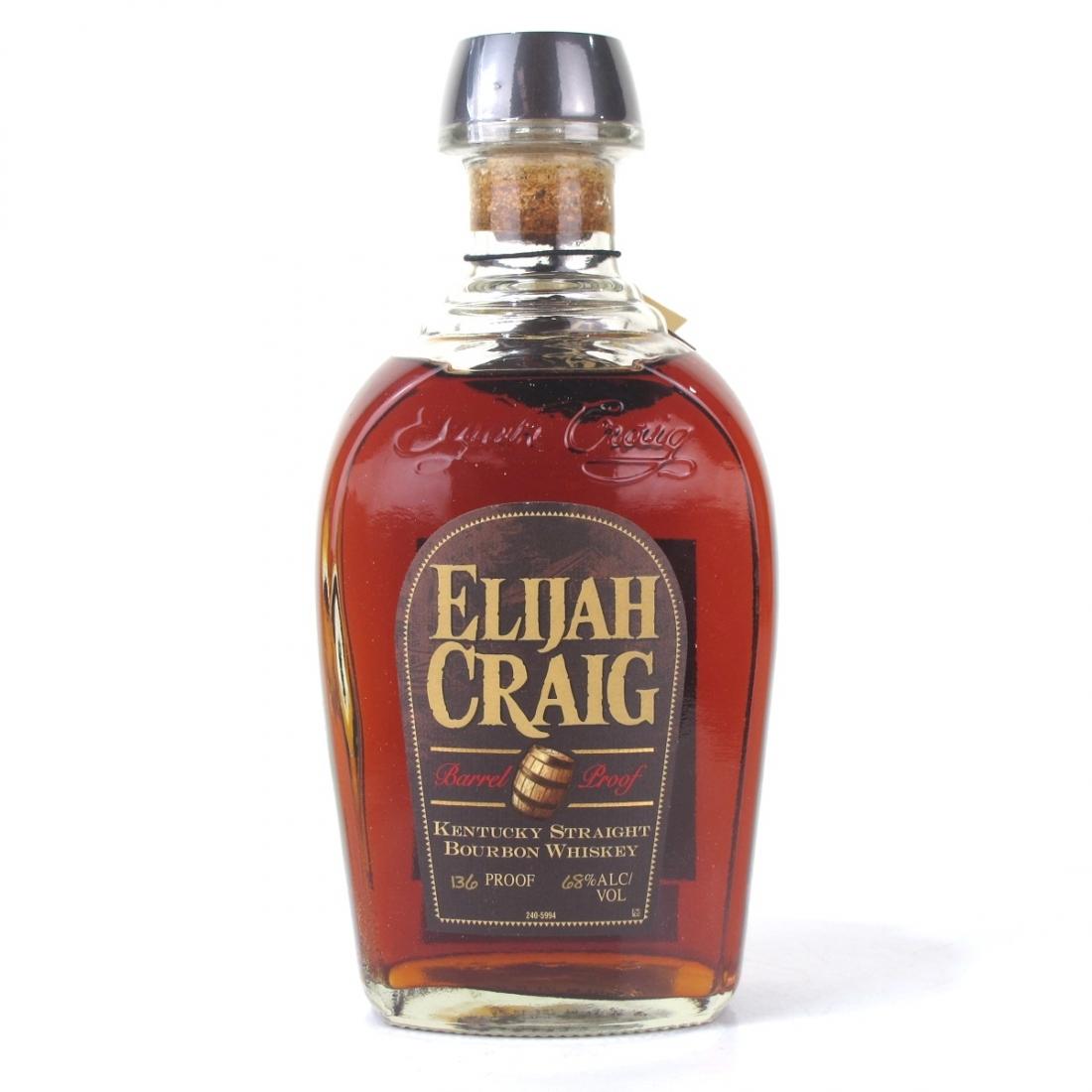 Elijah Craig Barrel Proof Bourbon 2016 Release / Batch #C196