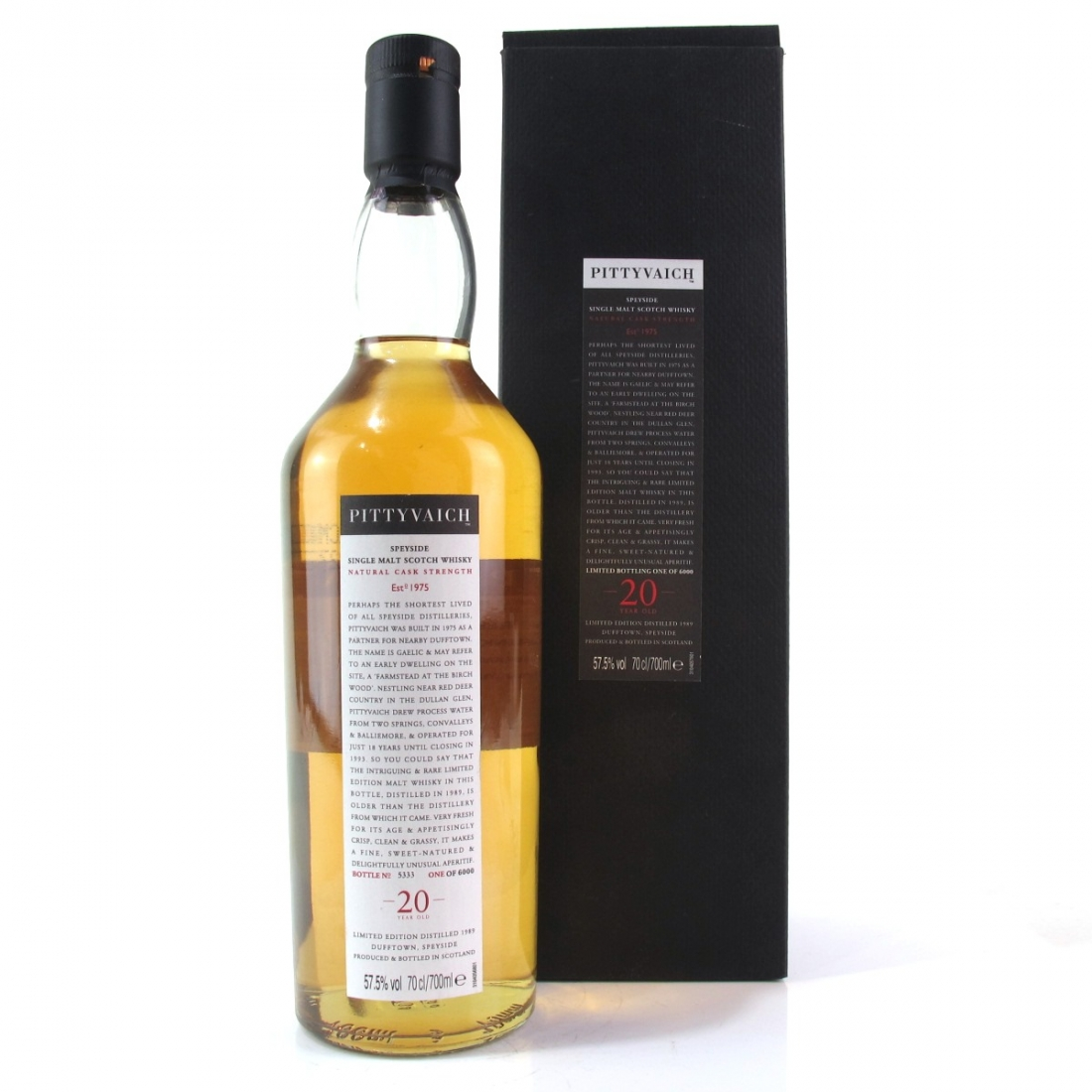 Pittyvaich 1989 20 Year Old / 2009 Release