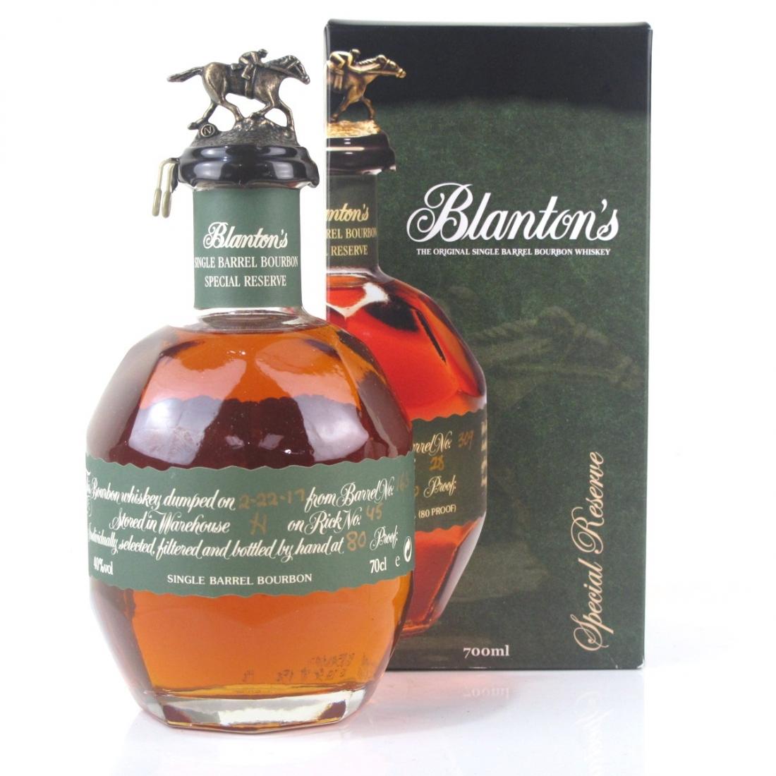 Blanton's Single Barrel Special Reserve