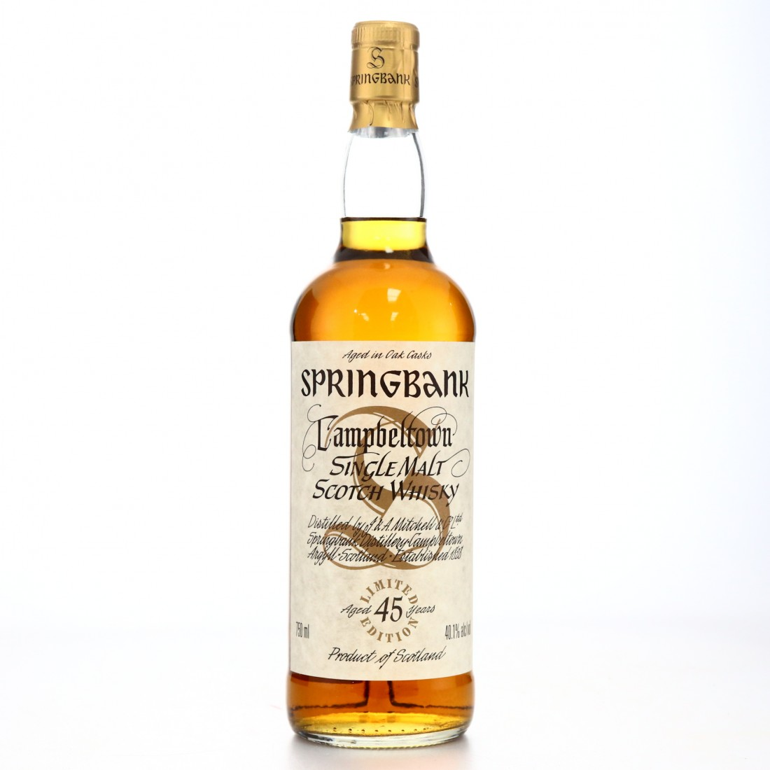 Springbank 45 Year Old Millennium Limited Edition 75cl / US Import