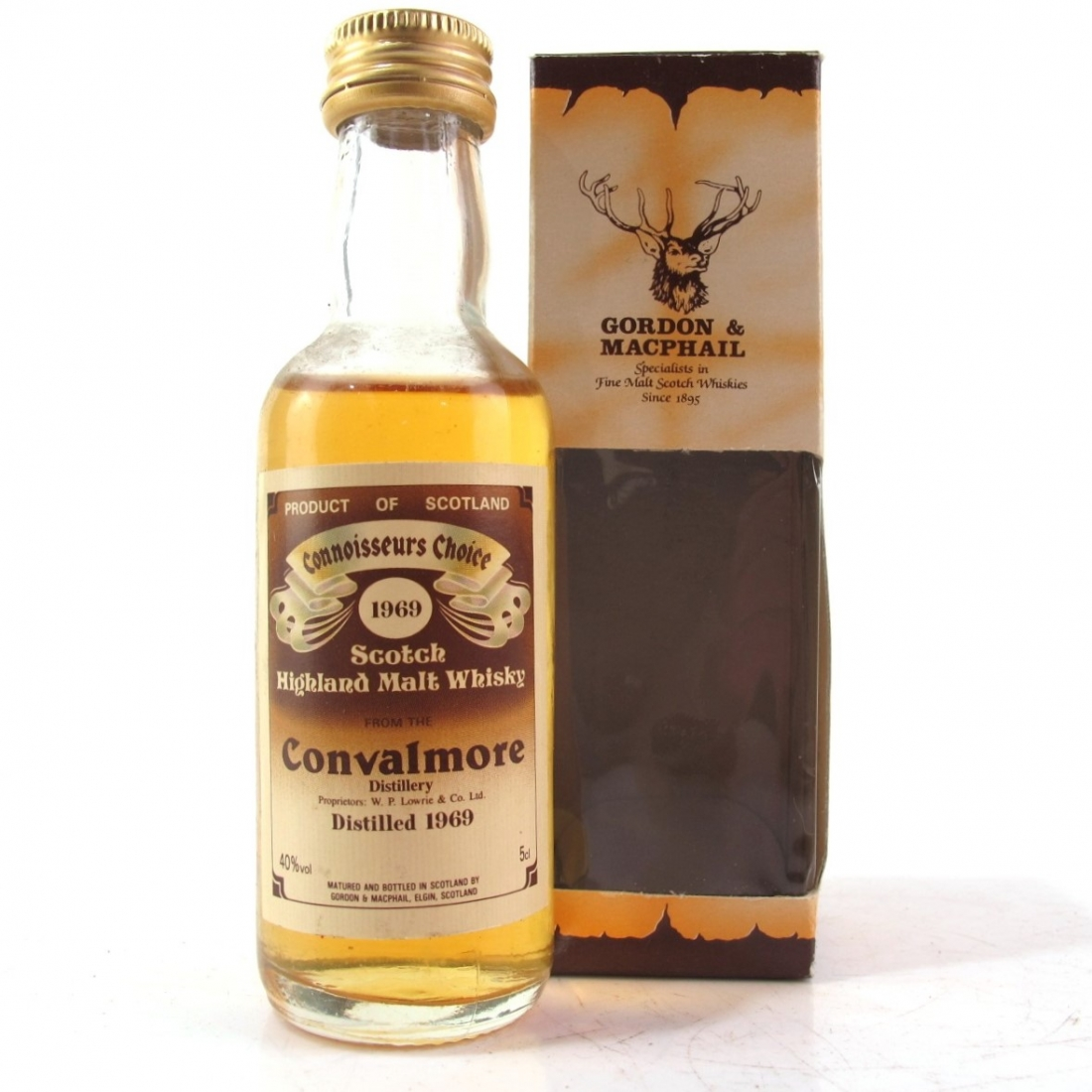 Convalmore 1969 Gordon and MacPhail Miniature 5cl