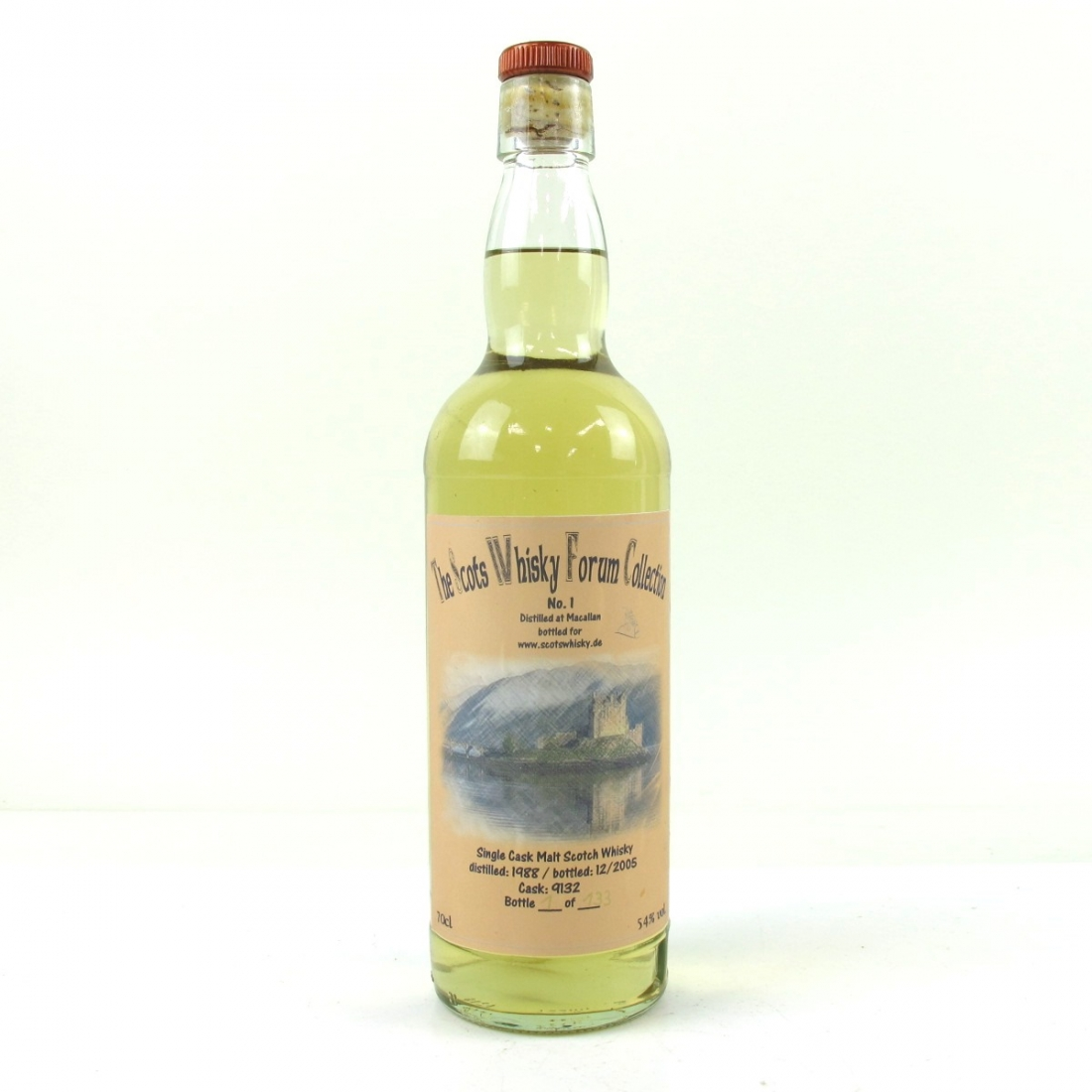 Macallan 1988 Scot Whisky Forum Collection 17 Year Old Single Cask
