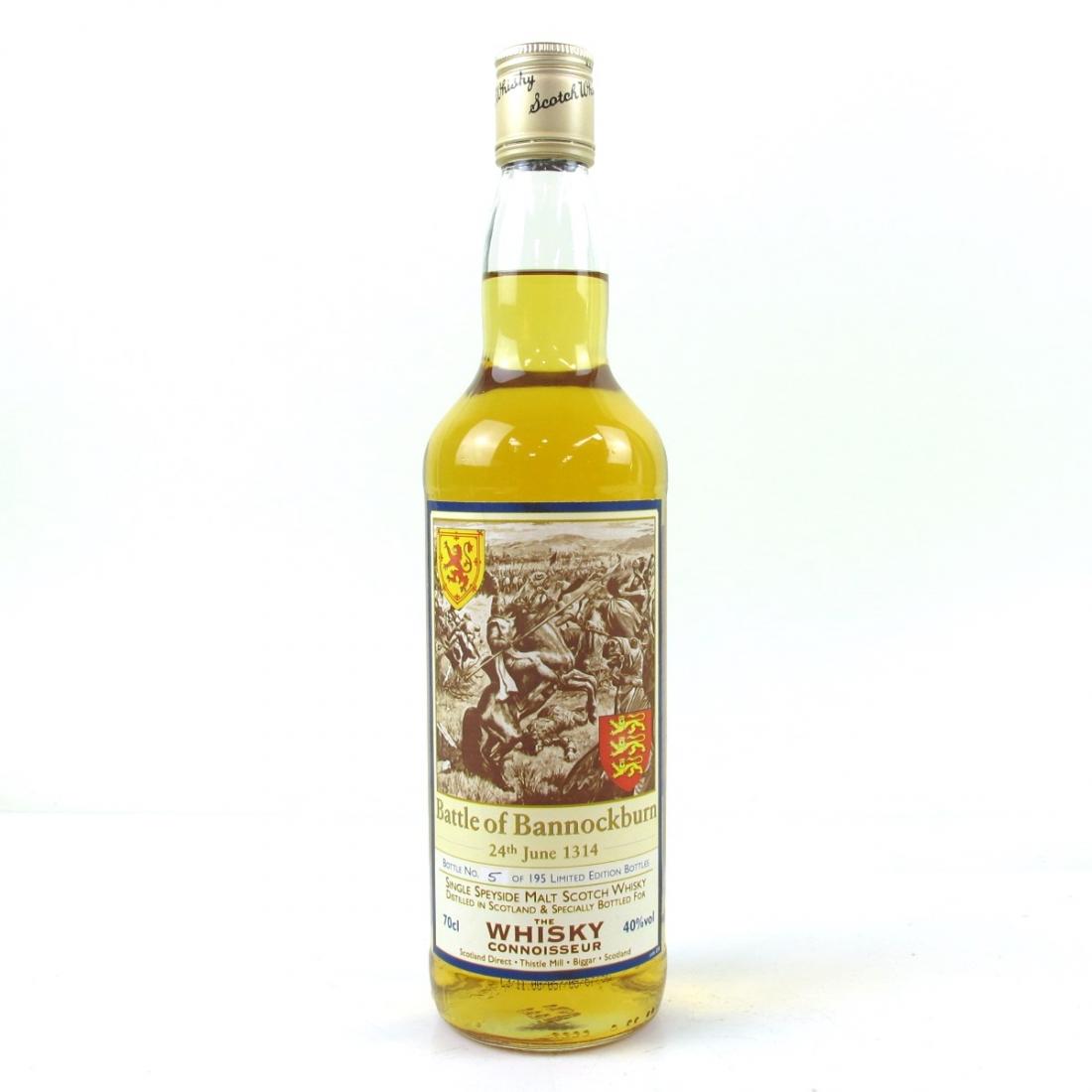 Speyside Single Malt Whisky Connoisseur Battle Of Bannockburn