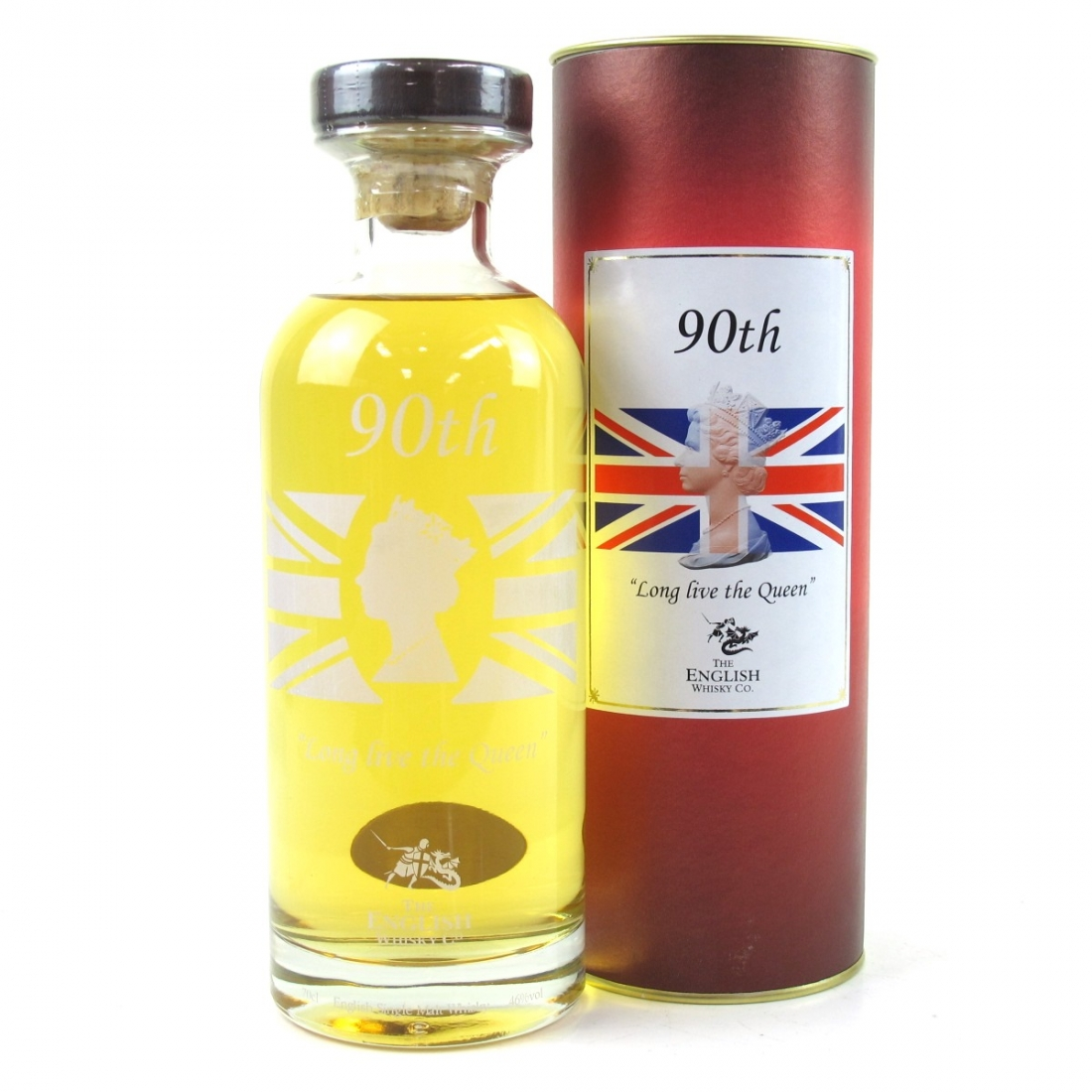 English Whisky Co 90th Birthday of Queen Elizabeth II / Long Live The Queen