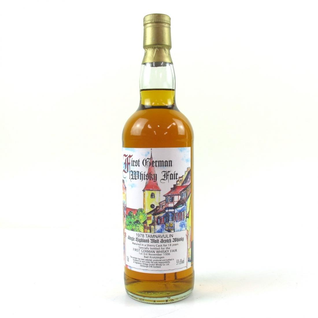 Tamnavulin 1978 Signatory Vintage 18 Year Old / First German Whisky Fair