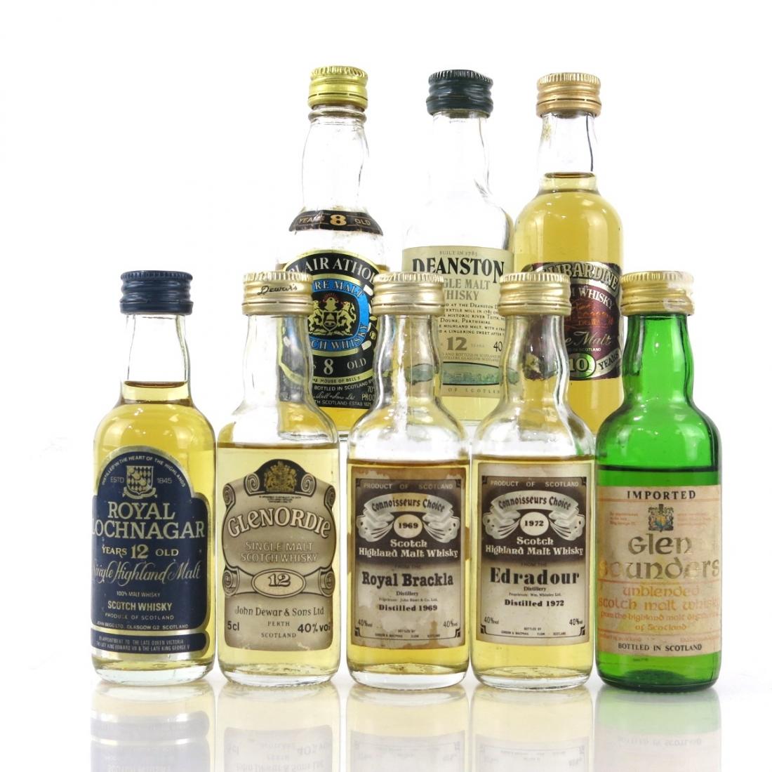 Highland Miniature Selection x 8