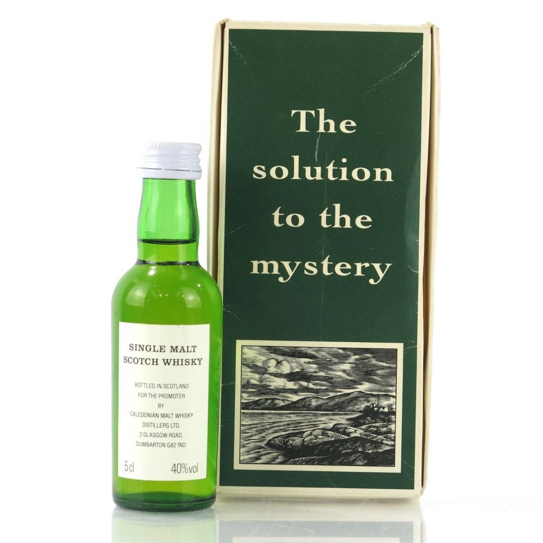 Laphroaig 10 Year Old Miniature 5cl 1990s / The Solution to the Mystery