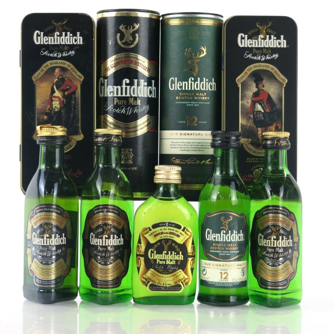 Glenfiddich Miniature Selection 5 x 5cl