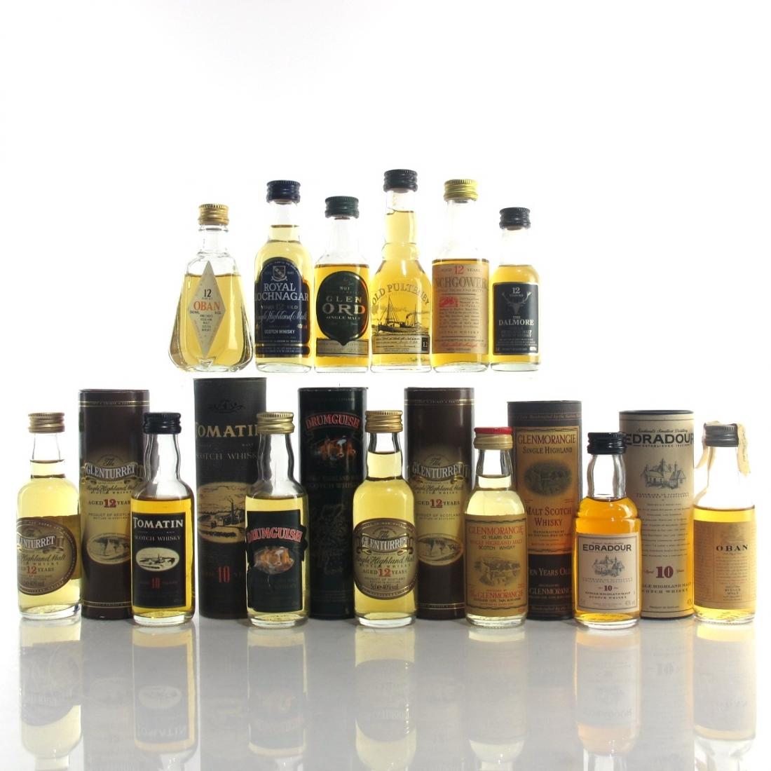 Highland Miniature Selection x 13